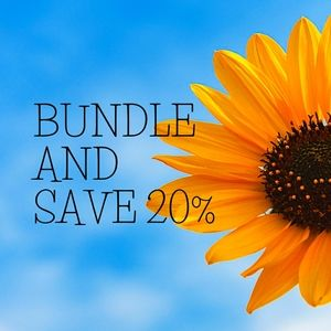 Bundle and Save 20%
